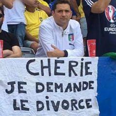 Euro 2016 : il demande le divorce en plein match