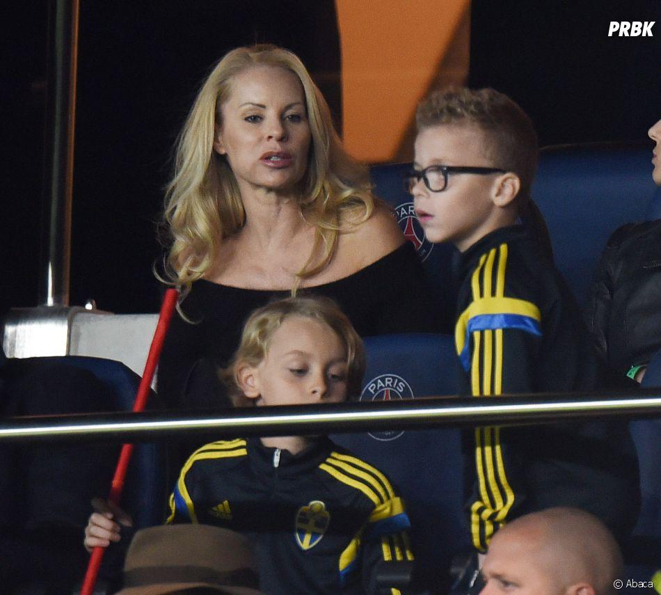 Helena Seger, la femme deZlatan Ibrahimovic assistera-t-elle au match Suède-Belgique ce mercredi 22 juin 2016 pour l'Euro 2016 ?