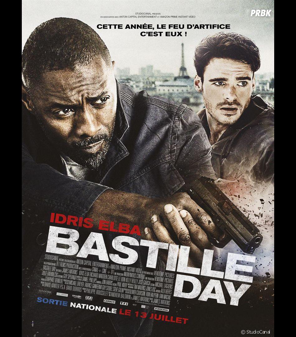 Bastille Day : Richard Madden et Idris Elba sur l'affiche