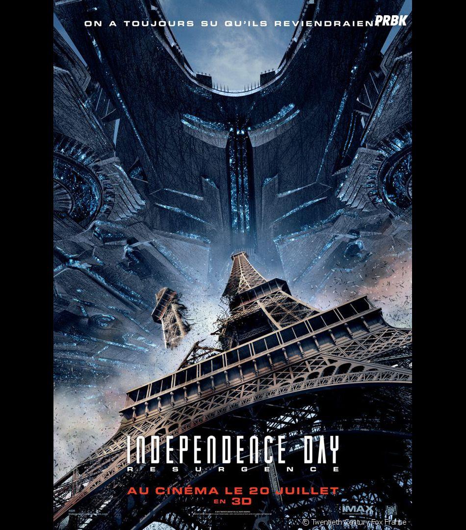 Independence Day 2 : l'affiche du film avec Paris