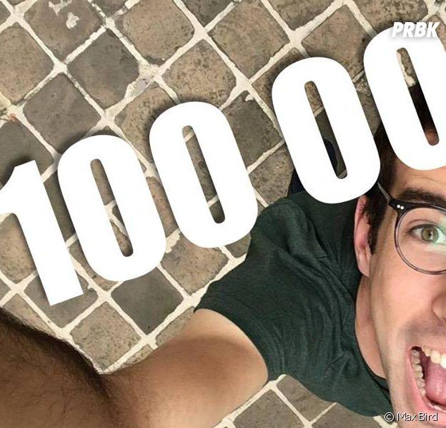 Max Bird passe la barre des 100 000 abonnés sur YouTube