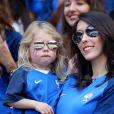 Jennifer Giroud et sa fille Jade âgée de 3 ans