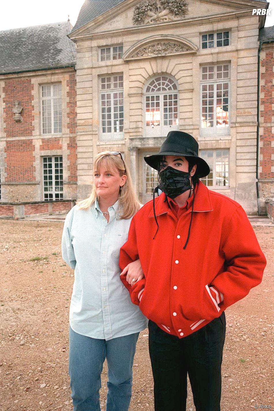 Michael Jackson et son ex femme Debbie Rowe : ils ont amis avant de se marier en 1996.