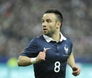 Mathieu Valbuena soutient l'Equipe de France face au Portugal à l'Euro 2016