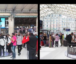 Un Alien à Gare du Nord