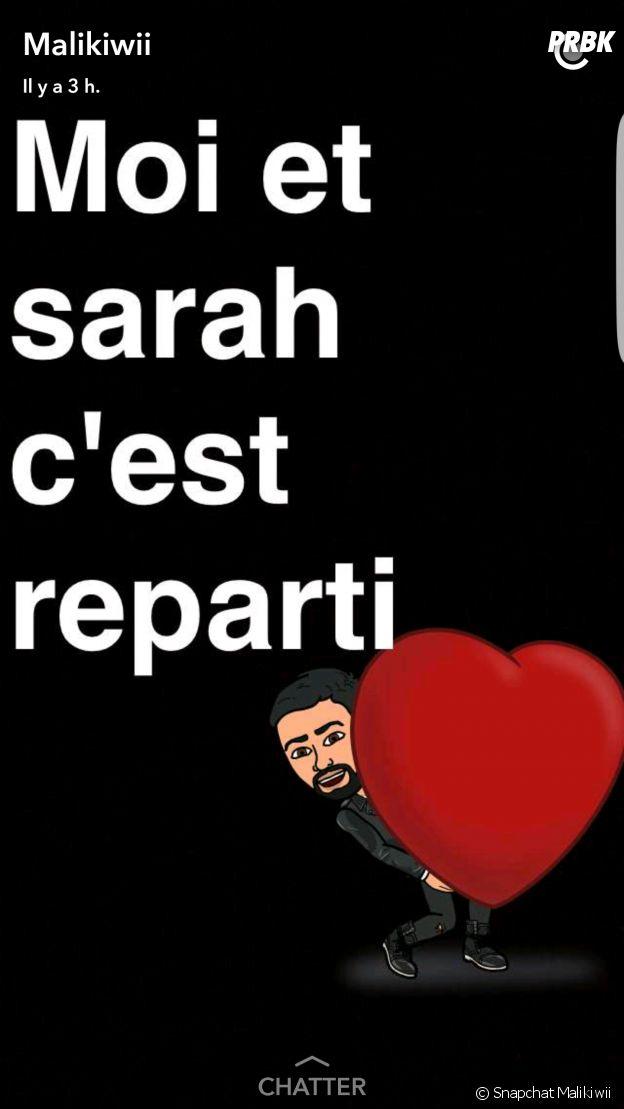 Sarah Fraisou (Les Anges 8) et Malik réconciliés : ils se remettent ensemble !