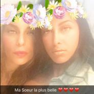 Ayem Nour présente sa soeur canon sur Snapchat