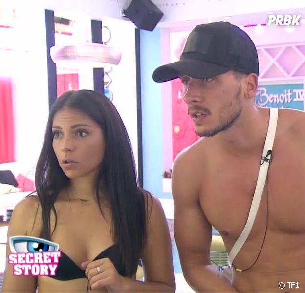 Secret Story 10 : première dispute pour le couple Julien-Sophia