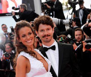 Lucie Lucas (Clem) et son mari Adrien au Festival de Cannes 2015
