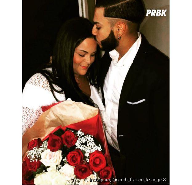 Sarah Fraisou (Les Anges 8) enceinte de Malik selon une photo Snapchat?