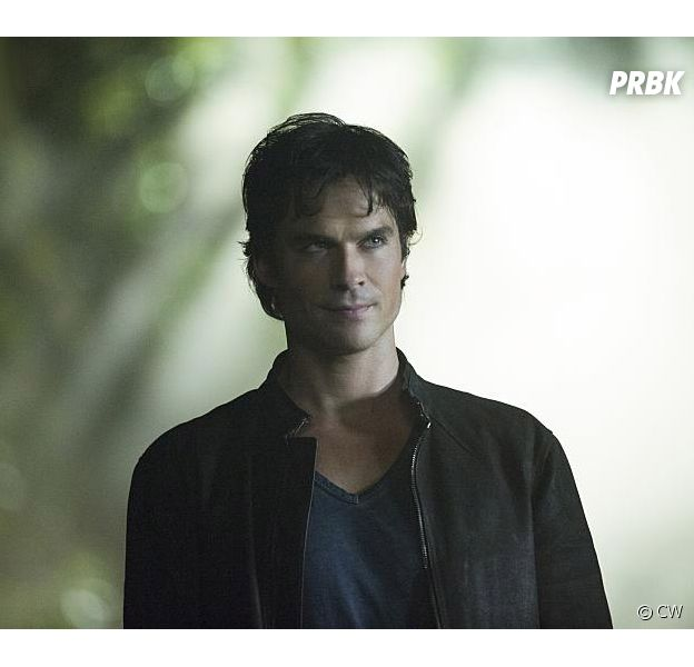 The Vampire Diaries saison 8, épisode 1 : Damon (Ian Somerhalder) sur une photo