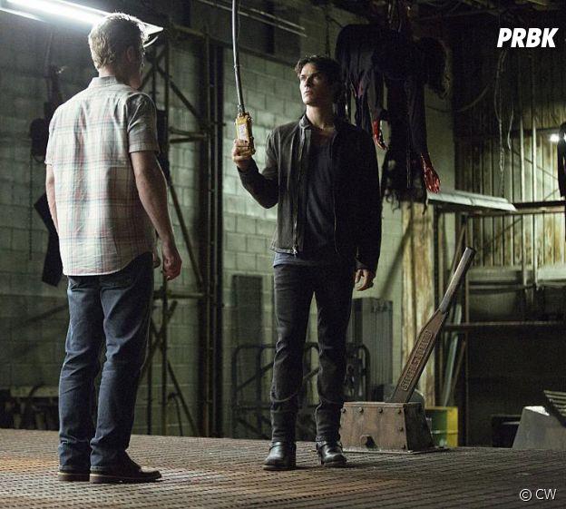 The Vampire Diaries saison 8, épisode 1 : Damon (Ian Somerhalder) plus démoniaque que jamais sur une photo