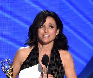 Julia Louis Dreyfus gagnante aux Emmy Awards 2016 le 18 septembre à Los Angeles