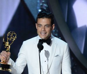 Rami Malek gagnant aux Emmy Awards 2016 le 18 septembre à Los Angeles