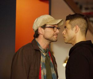 Mr Robot : Rami Malek face à Christian Slater