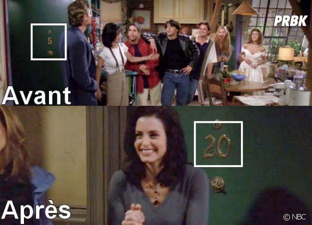 Friends : la grosse incohérence liée aux appartements