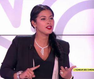 Ayem Nour parle de ses relations avec Caroline Receveur et Nabilla Benattia dans le Mad Mag le 20 octobre 2016 sur NRJ 12