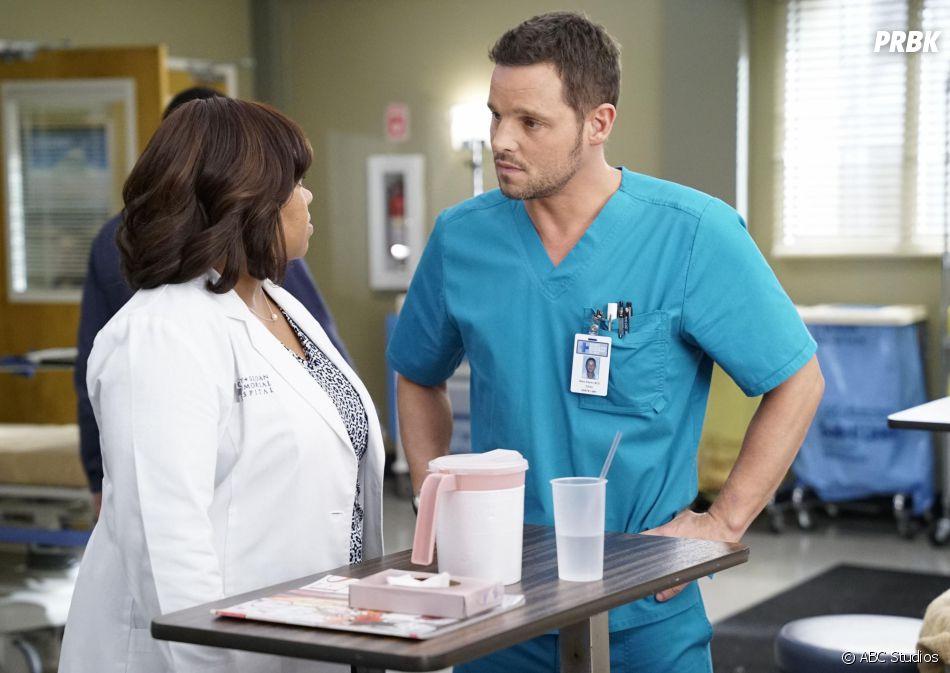 Grey's Anatomy saison 13, épisode 6 : Alex (Justin Chambers) sur une photo