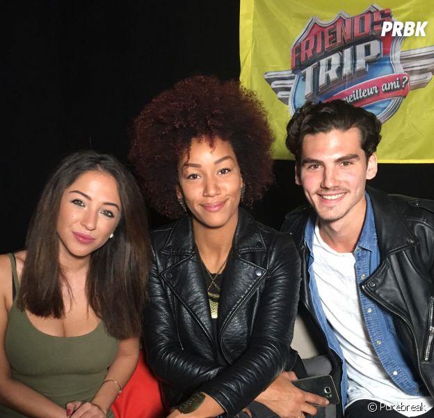 Mallory (Friends Trip 3), Clément et Emilie Amar en interview pour PRBK