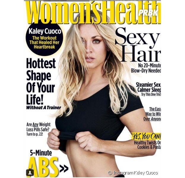 The Big Bang Theory : Kaley Cuoco fière de ses opérations de chirurgie esthétique