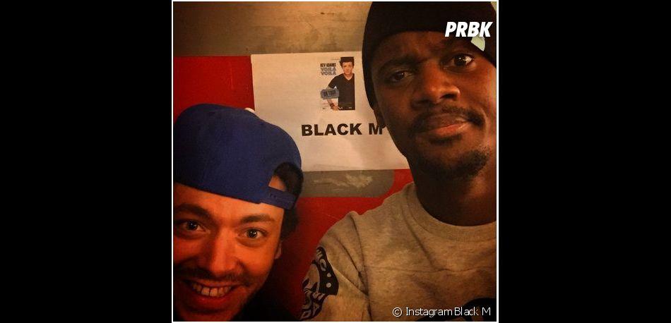Kev Adams et Black M au Zénith de Paris pour le dernier show de 2014 du Voilà Voilà Tour