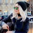 Emilie Nef Naf s'inspire de Mélanie Da Cruz et passe au blond platine.