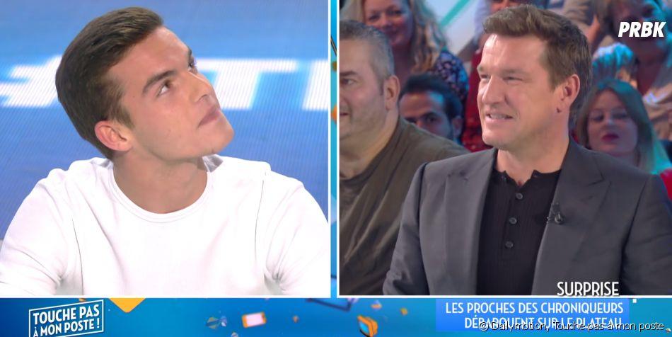 Benjamin Castaldi présente son fils Julien de 20 ans