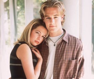 Michelle Williams et James Van Der Beek à l'époque de la série Dawson.