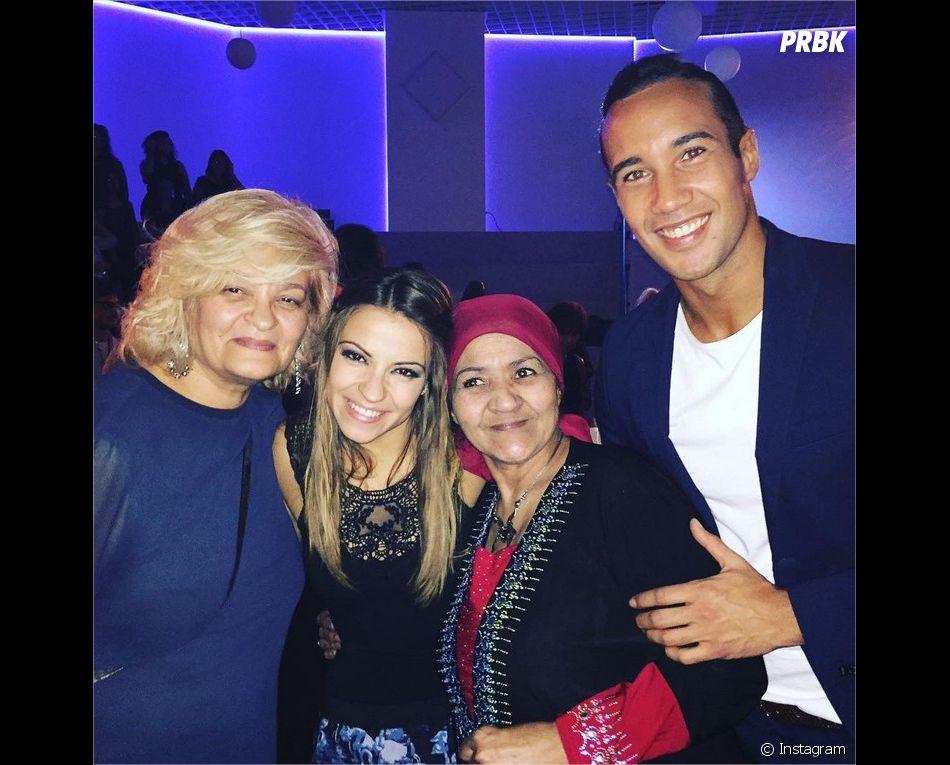 Laurent Maistret (Danse avec les Stars 7) pose avec sa maman et Denista Ikonomova
