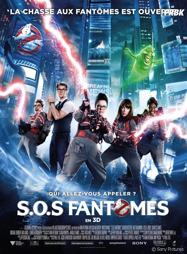 affiche du DVD Blu-Ray de SOS FANTOMES