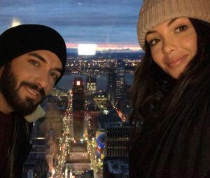 Nabilla Benattia et Thomas Vergara en amoureux à New York City.