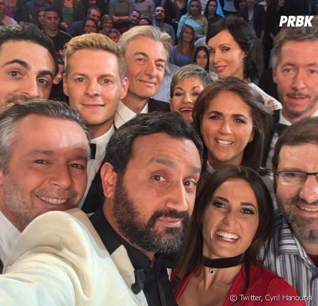 Cyril Hanouna et la bande de TPMP en tête du top 10 des tweets les plus retweetés en France en 2016