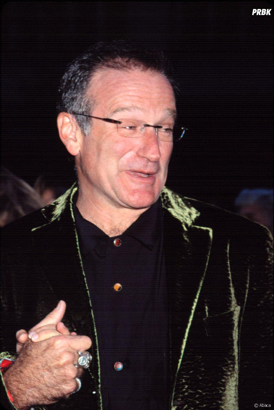 Robin Williams lors de la première du film Harry Potter à l'école des sorciers.