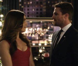 Arrow saison 5 : Oliver et Susan, un couple de plus en plus sérieux