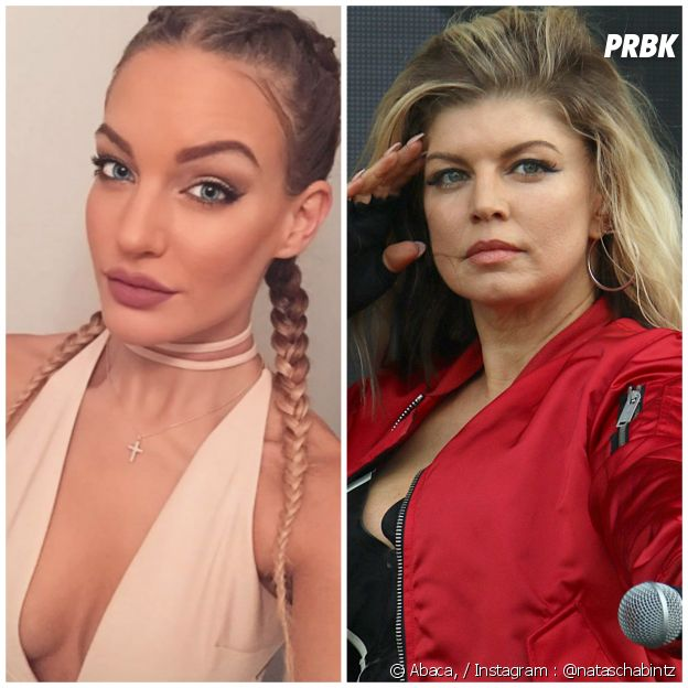 Natascha Bintz (The Game of Love) serait le sosie de Fergie
