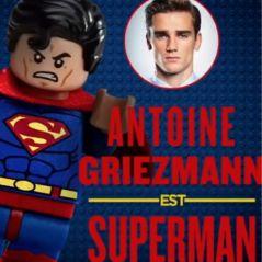 Antoine Griezmann devient Superman au cinéma dans le film Lego Batman