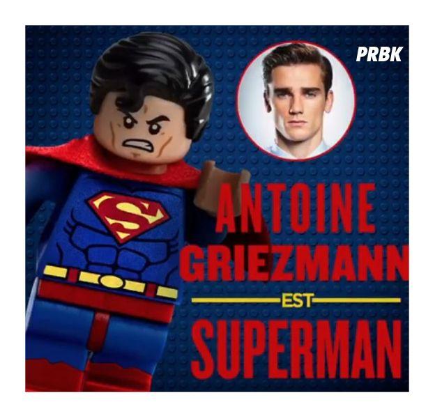 Antoine Griezmann au cinéma : le footballeur va doubler Superman dans le film Lego Batman