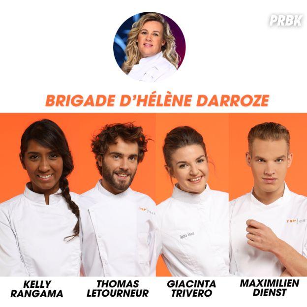 Top Chef 2017 : la brigade d'Hélène Darroze
