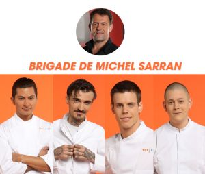 Top Chef 2017 : la brigade de Michel Sarran
