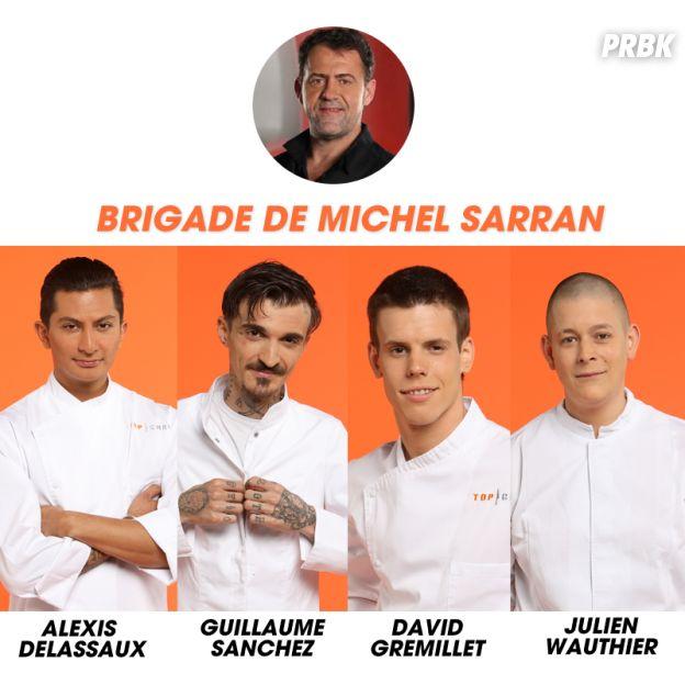 Top Chef 2017 : la brigade de Michel Sarran