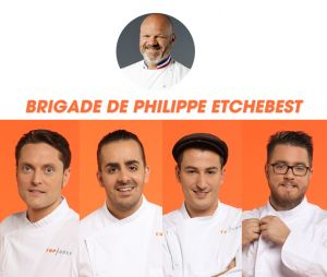 Top Chef 2017 : la brigade de Philippe Etchebest