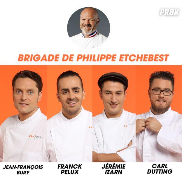 Top Chef 2017 : la brigade de Philippe Etchebest