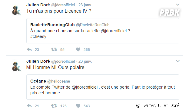 Julien Doré roi de twitter : ses meilleures réponses aux trolls