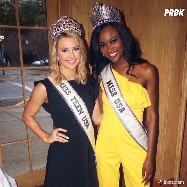 Iris Mittenaere (Miss Univers 2016) va devoir partager l'appartement à New York avec Deshauna Barber (Miss USA 2016) et Karlie Hay (Miss Teen USA 2016).