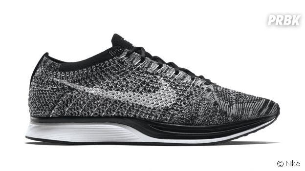 """Les sneakers Nike Flyknit Racer """"Oreo 2.0.""""."""