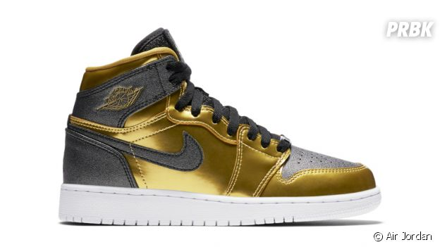 "Les sneakers Air Jordan 1 Retro High GG ""BHM""."