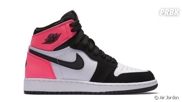 "Les sneakers Air Jordan 1 Retro High OG ""Valentine's Day""."