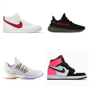 "Nike LeBron 14 ""Black Ice"", Adidas Yeezy Boost 350 V2 ""Black/Red""... Les sneakers de la semaine"