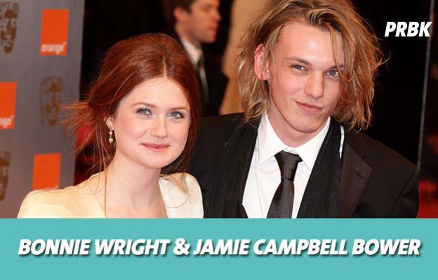 Harry Potter : Bonnie Wright et Jamie Campbell Bower ont été en couple
