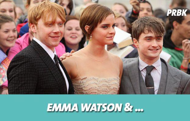 Harry Potter : Emma Watson avait le béguin pour Tom Felton